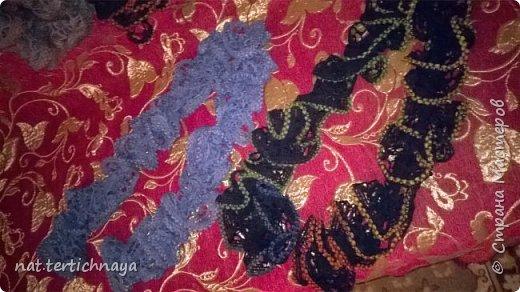 Шарфы  связаны  спицами из ленточной пряжи. фото 2