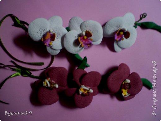 Цветы из фоамирана фото 6