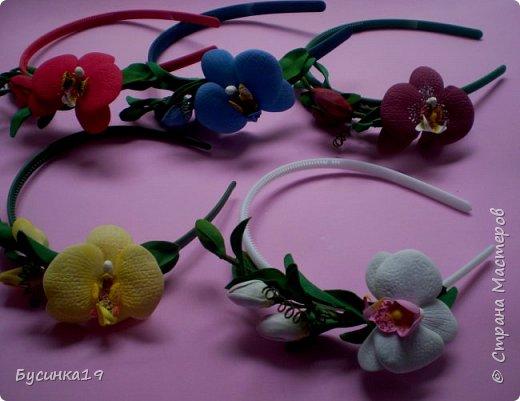 Цветы из фоамирана фото 7