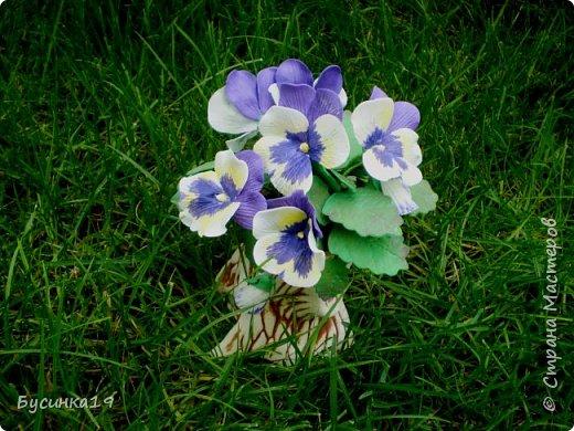 Цветы из фоамирана фото 11