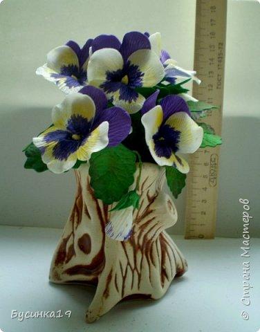 Цветы из фоамирана фото 12