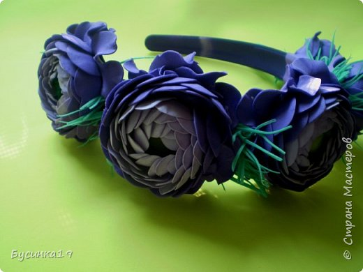 Цветы из фоамирана фото 8