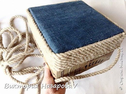 Друзья,всем привет!Сегодня у меня небольшой МК ,по нужной и полезной в хозяйстве вещицы(корзины)Куда девать старые джинсы?Может в корзину?!!)) фото 3