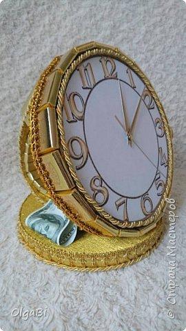 Часы из шоколада, основа пеноплекс фото 1