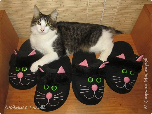 Черные кошки. Подарки к Хэллоуину. фото 2