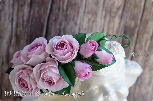 Веночки с цветами из фоамирана для девочек, девушек, женщин...  фото 2