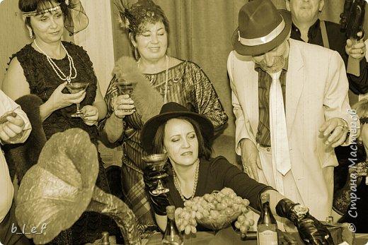 Граммофон своими руками + мини МК. Гангстерская вечеринка. фото 22