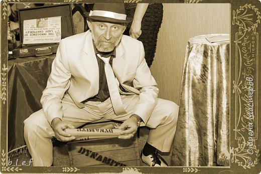 Граммофон своими руками + мини МК. Гангстерская вечеринка. фото 24