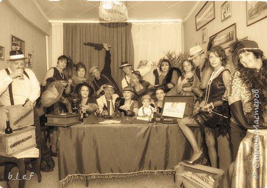 Граммофон своими руками + мини МК. Гангстерская вечеринка. фото 33