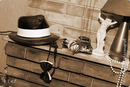 Граммофон своими руками + мини МК. Гангстерская вечеринка. фото 35