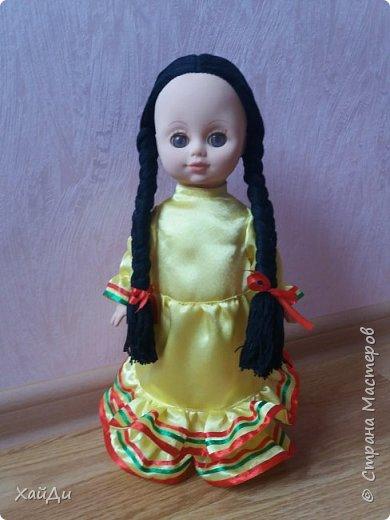 Всем привет.  Попросили в садик куклу в национальном костюме.  фото 7