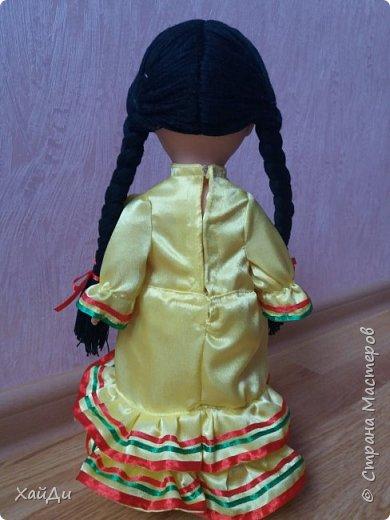 Всем привет.  Попросили в садик куклу в национальном костюме.  фото 6