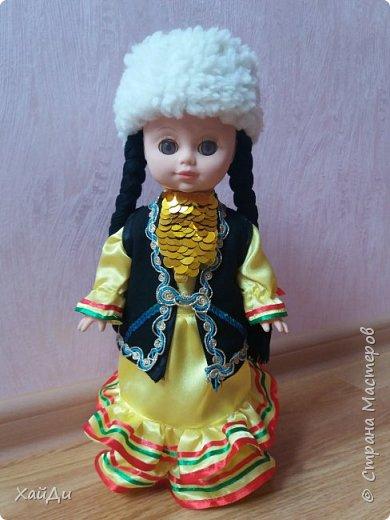 Всем привет.  Попросили в садик куклу в национальном костюме.  фото 1