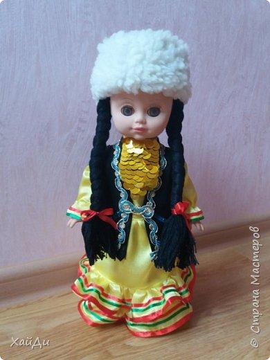 Всем привет.  Попросили в садик куклу в национальном костюме.  фото 9