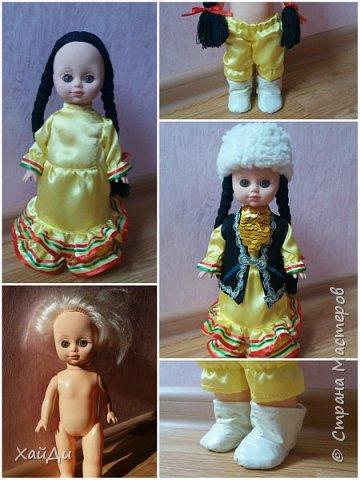 Всем привет.  Попросили в садик куклу в национальном костюме.  фото 4