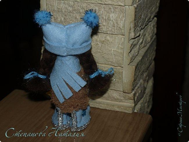 Доброго дня! Вот и закончились у меня деревянные бусины! А материал ещё есть и желание делать куколок тоже. Давайте посмотрим на этих (НЕ ПОСЛЕДНИХ!) фото 7