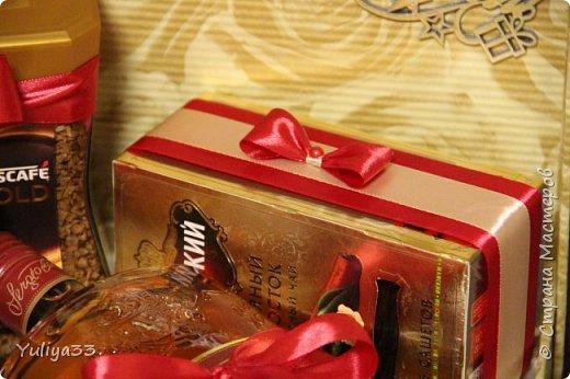 """И снова, здравствуйте, дорогие феечки - мастерицы нашей замечательной страны! Исполняю обещанное в предыдущем блоге - выставляю оставшуюся часть работ - за лето и осень. Вот такая корзиночка - заказ на день рождения для женщины.Конфеты """"Вулкан Латте шоколад"""", """"Вулкан Лесной орех"""", """"Лель"""" фото 60"""