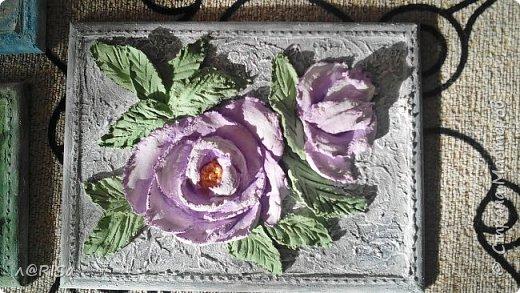 Ансамбль из четырёх панно в стиле объёмной или скульптурной живописи фото 5