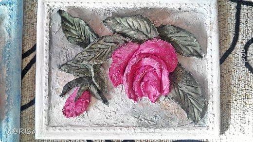 Ансамбль из четырёх панно в стиле объёмной или скульптурной живописи фото 4