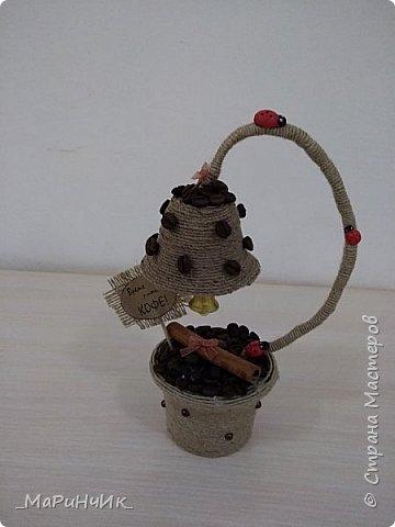 """Топиарий """"Время пить кофе"""" идея взята на просторах инета. фото 3"""
