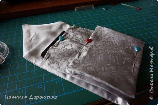 Чехол для мобильного из галстука фото 6