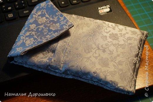 Чехол для мобильного из галстука фото 1