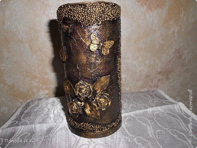 Карандашница-вазочка