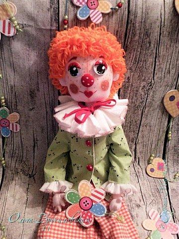 Привет всем в СМ! Вот они, мои новые куклы: Клоун и Балерина! Артисты! Цирк и балет!  фото 3