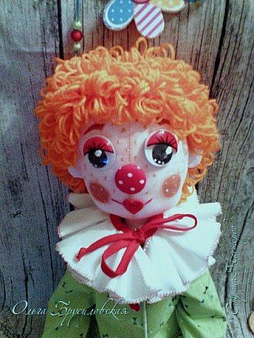 Привет всем в СМ! Вот они, мои новые куклы: Клоун и Балерина! Артисты! Цирк и балет!  фото 2