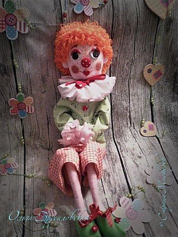 Привет всем в СМ! Вот они, мои новые куклы: Клоун и Балерина! Артисты! Цирк и балет!  фото 5