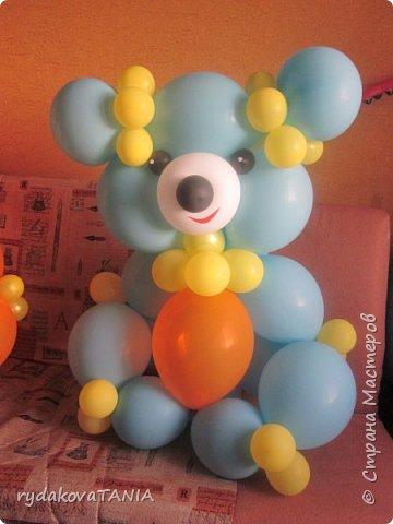 Игрушки из шаров фото 1