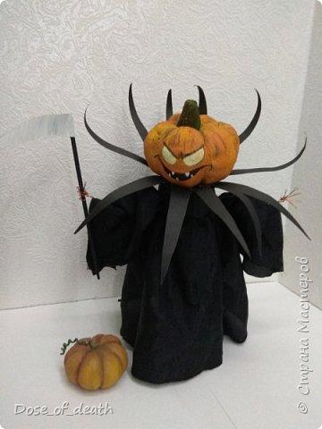 Я очень люблю таких страшил, ужастиков и прочего. И когда увидела конкурс в честь Halloween не смогла устоять.  фото 17