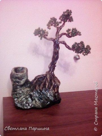 Мои деревья из гипса)) фото 2