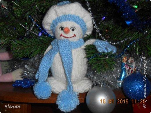 Мой первый снеговичок. фото 1