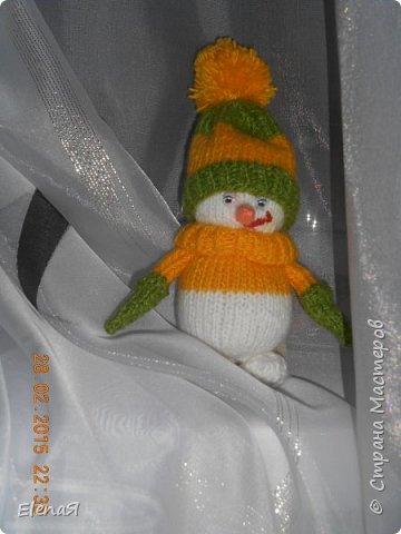 Мой первый снеговичок. фото 4