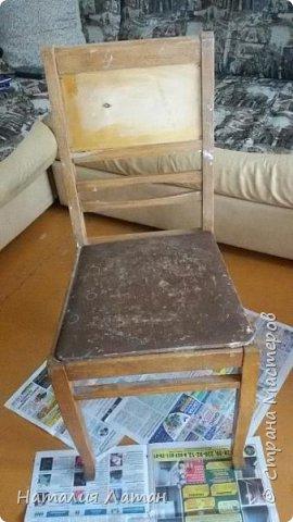 Реставрация советского стула фото 2