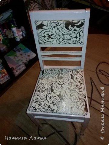 Реставрация советского стула фото 1
