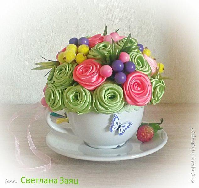 Цветочный топиарий.  фото 5