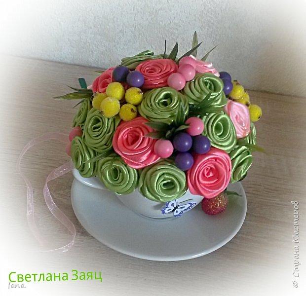 Цветочный топиарий.  фото 6