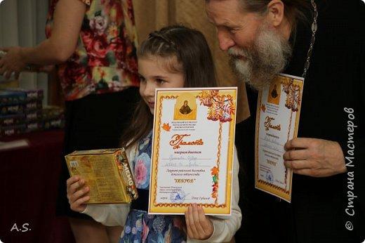 И снова выставка детских работ, посвященная празднику Покрова Пресвятой Богородицы.  фото 18