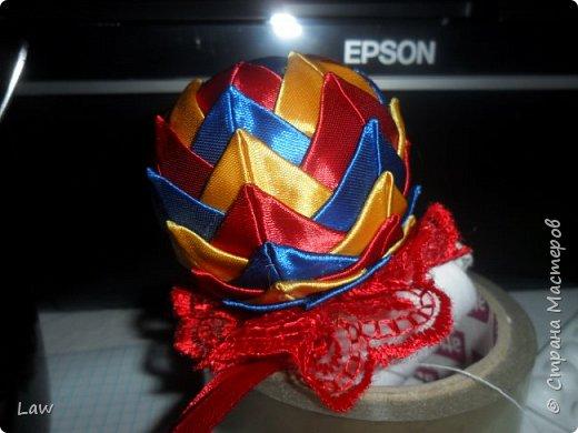 сделали шарики на елку) начинаем подготовку к праздникам)))) фото 1