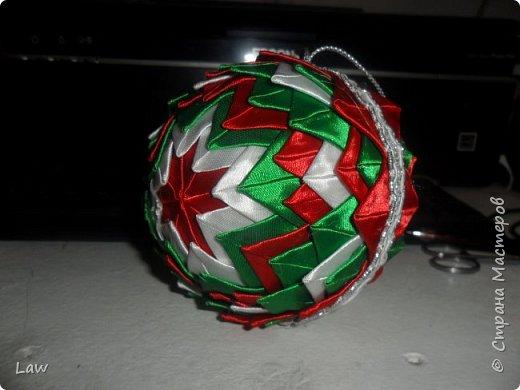 сделали шарики на елку) начинаем подготовку к праздникам)))) фото 2
