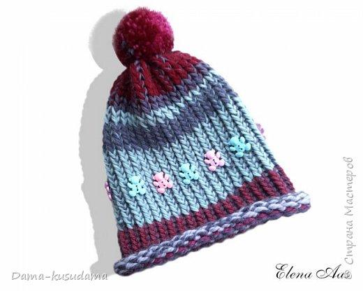 Новые шапки на зиму связала для дочки :-) фото 3