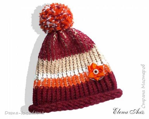 Новые шапки на зиму связала для дочки :-) фото 2