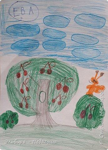Очень быстро пролетела первая четверть. Оглянулась назад.... как много мы оказывается говорили на разные темы и очень много рисовали!!! Обо всём на свете!!! Например, о растениях и животных, которые нуждаются в охране и занесены в Красную Книгу. Или рассказали друг-другу о наших домашних питомцах, о том какие  животные и растения нам нравятся. фото 13