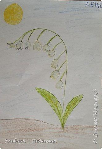 Очень быстро пролетела первая четверть. Оглянулась назад.... как много мы оказывается говорили на разные темы и очень много рисовали!!! Обо всём на свете!!! Например, о растениях и животных, которые нуждаются в охране и занесены в Красную Книгу. Или рассказали друг-другу о наших домашних питомцах, о том какие  животные и растения нам нравятся. фото 4