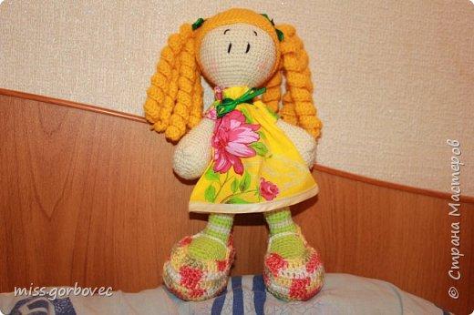 Кукла Пеппи по описанию Марии Браковской фото 2