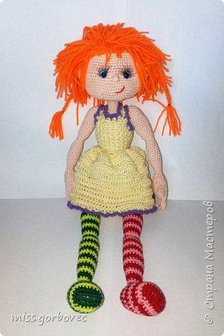 Кукла Пеппи по описанию Марии Браковской фото 1