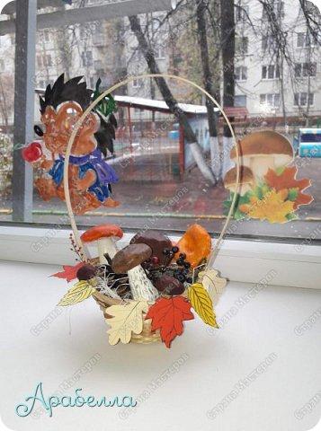 """Топиарий """"Осеннее деревце"""" фото 5"""