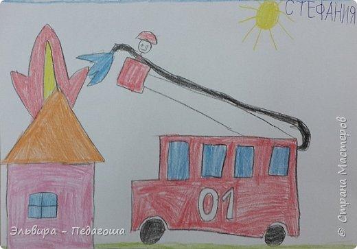 С первых дней детей в школе ведём с ними разговор о безопасности в нашей жизни. Разбираем правила дорожного движения, пожарной безопасности и обращения с электроприборами, правила поведения в общественных местах и  правила личной безопасности на улице, правила поведения около водоёмов во время их предзимнего замерзания, правила безопасности на льду. Проводим классные часы и внеклассные мероприятия о том, что надо соблюдать правила поведения, когда ты один дома, правила безопасности при обращении с животными, говорим о том, что играть с острыми, колющими и режущими, легковоспламеняющимися и взрывоопасными предметами очень опасно! Не употреблять лекарственные препараты без назначения врача. И много -много других правил, которые делают нашу жизнь безопаснее. Надеюсь, что мои ученики это пойму, запомнят и будут соблюдать все правила ОБЖ.   А вот и их рисунки на тему ПДД:   фото 18